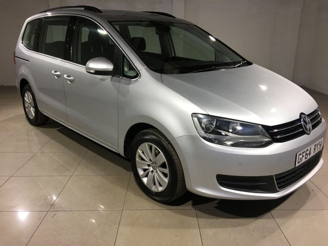 View our 2014 64 VOLKSWAGEN SHARAN 2.0 SE TDI DSG 5d AUTO 142 BHP
