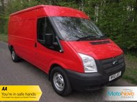 USED 2012 12 FORD TRANSIT 2.2 330 1d 124 BHP ONE OWNER, SERVICE HISTORY, LWB, MEDIUM ROOF