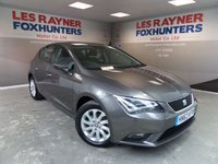 USED 2013 63 SEAT LEON 1.6 TDI SE TECHNOLOGY 5d 105 BHP Bluetooth,Cruise control, Sat Nav