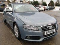 2011 AUDI A4 2.0 TDI SE 4d 134 BHP £8495.00