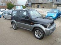 2008 SUZUKI JIMNY 1.3 JLX PLUS 3d 83 BHP £4000.00