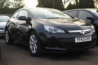 USED 2013 63 VAUXHALL ASTRA 1.6 GTC SPORT 3d 177 BHP NEED FINANCE? WE CAN HELP. WE STRIVE FOR 94% ACCEPTANCE