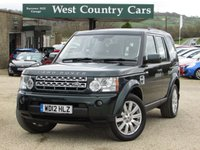 USED 2012 12 LAND ROVER DISCOVERY 3.0 4 SDV6 HSE 5d AUTO 255 BHP Check out our 5* Reviews!