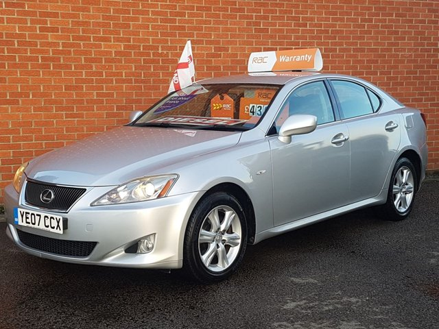 2007 07 LEXUS IS 2.2 220D 4d 175 BHP