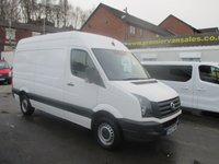 2013 VOLKSWAGEN CRAFTER MEDIUM WHEEL BASE  2.0 CR35 TDI, STARTLINE MODEL, ONLY 41,000 MILES! EXCELLENT CONDITION, READY FOR WORK £9995.00