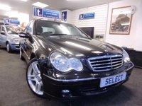 2006 MERCEDES-BENZ C CLASS 2.1 C220 CDI AVANTGARDE SE 4d AUTO 148 BHP £2999.00