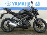 USED 2017 YAMAHA MT-125 ABS, TECH BLACK BRAND NEW! *YAMAHA LOW RATE FINANCE AVAILABLE 0% APR OVER 36 MONTHS*