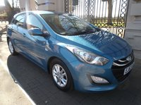 USED 2014 63 HYUNDAI I30 1.6 ACTIVE CRDI 5dr AUTO 109 BHP 1 OWNER FROM NEW DIESEL AUTOMATIC  FULL SERVICE HISTORY  BLUETOOTH PHONE AIR/CON CRUISE CONTROL *** FINANCE & PART EXCHANGE WELCOME ***