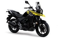 USED 2017 SUZUKI DL 250 250 V-STROM, PEARL NUCLEAR BLACK/SOLID DAZZLING  COOL YELLOW, COMING SUMMER 2017!