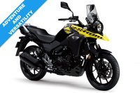 USED 2018 SUZUKI DL 250 V-STROM, PEARL NUCLEAR BLACK/SOLID DAZZLING  COOL YELLOW***