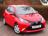 USED 2015 15 TOYOTA AYGO 1.0 VVT-I X-PLAY 5d 69 BHP POOR CREDIT WE CAN HELP JUST ASK!! VERY ECONOMICAL & CHEAP TO RUN!!