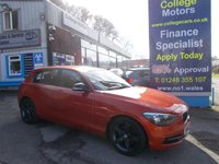 USED 2014 14 BMW 1 SERIES 114D 1.6D SPORT 5 Door 94 BHP, 1 Owner, £30.00 RFL *****FINANCE AVAILABLE APPLY ONLINE******