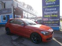 USED 2014 14 BMW 1 SERIES 114D 1.6D SPORT 5 Door 94 BHP, 1 Owner, �£30.00 RFL *****FINANCE ARRANGED*****