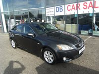 USED 2008 08 LEXUS IS 2.2 220D 4d 175 BHP FREE 12 MONTHS RAC WARRANTY AND FREE 12 MONTHS RAC BREAKDOWN COVER