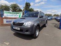 2015 TOYOTA HI-LUX 2.5TD Active Crewcab Pickup £14495.00