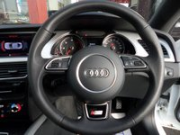 USED 2015 15 AUDI A5 2.0 TDI S LINE S/S 2d 177 BHP **PANROOF** ** PANORAMIC ROOF * LEATHER * NAV **