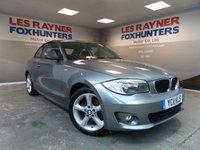 2011 BMW 1 SERIES 2.0 120D SPORT 2d 175 BHP £7999.00