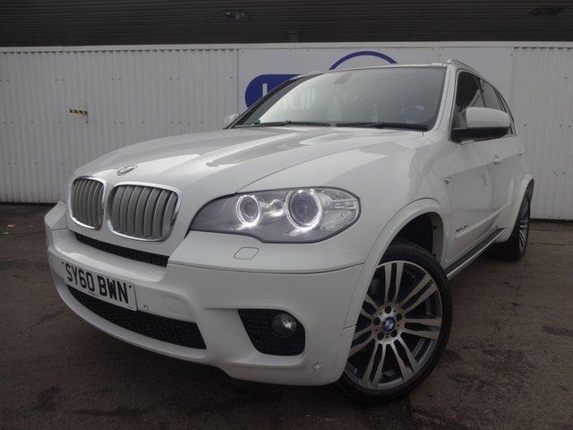 2010 60 BMW X5 3.0 XDRIVE40D M SPORT 5d AUTO 302 BHP