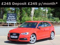 USED 2013 AUDI A3 1.4 TFSI S LINE 5d 139 BHP MASSIVE SPEC, HALF LEATHER SEATS, CRUISE CONTROL, REAR PARKING SENSORS, BLUETOOTH