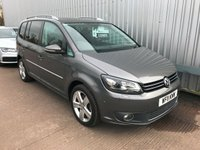 USED 2011 11 VOLKSWAGEN TOURAN 2.0 SPORT TDI 5d 142 BHP ONLY 71,000 MILES, FULL SERVICE HISTORY, AUTO LIGHTS, AUTO WIPERS, CRUISE CONTROL, AIR-CON, STEERING WHEEL CONTROLS, PARKING ASSIST, CLOTH INTERIOR, 7 SEATER, 12V POWER OUTLET, DAY TIME RUNNING LIGHTS, ROOF RAILS, ALLOY WHEELS, REAR PARKING SENSORS, TINTED REAR WINDOWS, PROJECTOR HEADLIGHTS, ARM REST, CUP HOLDERS, REAR PASSENGER,