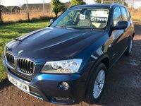 2012 BMW X3 2.0 XDRIVE20D SE 5d AUTO 181 BHP £18995.00