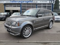 USED 2008 08 LAND ROVER RANGE ROVER SPORT OVERFINCH 3.6 TDV8 SPORT HSE 5d AUTO 269 BHP ORIGINAL OVERFINCH