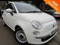 2012 FIAT 500 0.9 LOUNGE 3d 85 BHP £5500.00