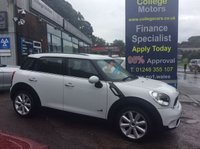 USED 2012 62 MINI COUNTRYMAN 2.0TD COOPER SD 4X4, 1 OWNER, 54000 MILES *****FINANCE AVAILABLE APPLY ONLINE******