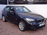 USED 2011 11 BMW X1 2.0 M SPORT 18D S DRIVE 5dr SAT NAV, FULL LEATHER, FULL BMW S/HISTORY, 1 OWNER FROM NEW, HPI CLEAR