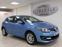 USED 2014 14 RENAULT MEGANE 1.5 DYNAMIQUE TOMTOM ENERGY DCI S/S 5d 110 BHP Zero Road Tax Outstanding MPG With 12 Months MOT & Service