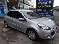 USED 2012 61 RENAULT CLIO 1.2 16v i-MUSIC 3 DOOR,2 Owners, 47000 miles *****FINANCE AVAILABLE APPLY ONLINE******