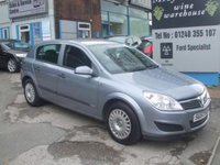 USED 2007 57 VAUXHALL ASTRA 1.3CDTi LIFE 5 Dr, ONLY 73000 MILES FULL 12 MONTHS MOT