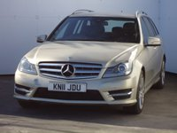 2011 MERCEDES-BENZ C CLASS 2.1 C220 CDI BLUEEFFICIENCY SPORT 5d 168 BHP £10388.00