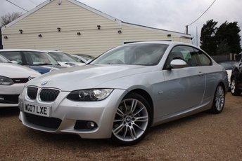 2007 BMW 3 SERIES 3.0 330I M SPORT 2d AUTO 269 BHP £7000.00