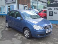 2006 VOLKSWAGEN POLO 1.2 S 5 DOOR HATCHBACK £1995.00