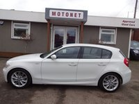 2008 BMW 1 SERIES 2.0 118D M SPORT 5d 141 BHP £SOLD