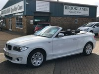 2013 BMW 1 SERIES 2.0 118I EXCLUSIVE EDITION 2d 141 BHP £SOLD