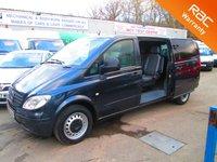 2007 MERCEDES-BENZ VITO 115 CDI EXTRA LONG TRAVELINER LWB 5 Seat £8995.00