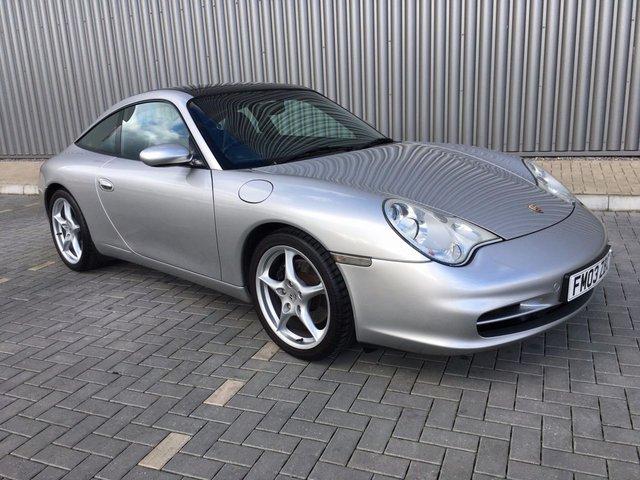 2003 03 PORSCHE 911 3.6 TARGA TIPTRONIC 316 BHP