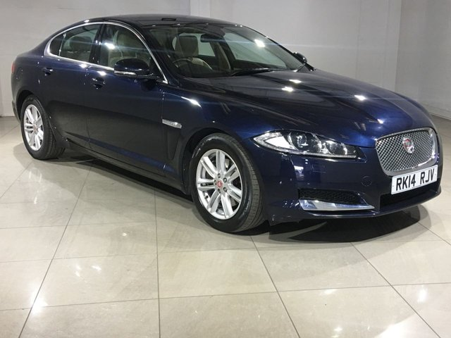 View our 2014 14 JAGUAR XF 2.2 D LUXURY 4d AUTO 200 BHP
