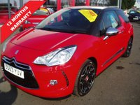 USED 2014 63 CITROEN DS3 1.6 THP DSport Plus 3dr Leather, 1 Owner, Low Miles