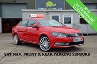 USED 2013 VOLKSWAGEN PASSAT 2.0 HIGHLINE TDI *SAT NAV & PARKING SENSORS* *FROM £139 MONTHLY*