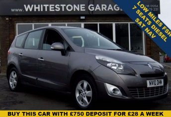 2010 RENAULT GRAND SCENIC 1.9 DYNAMIQUE TOMTOM DCI 5d 129 BHP £6175.00