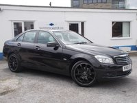 2010 MERCEDES-BENZ C CLASS 1.8 C180 CGI BLUEEFFICIENCY SE 4d AUTO 156 BHP £6750.00