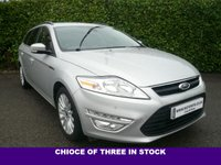 USED 2013 63 FORD MONDEO 2.0 ZETEC BUSINESS EDITION TDCI ESTATE 5d 140 BHP