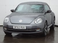 USED 2013 62 VOLKSWAGEN BEETLE 2.0 SPORT TDI 3d 139 BHP 2013 MODEL CAR, LOW MILES WITH FULL DEALER SERVICE HISTORY