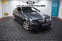 USED 2012 62 MERCEDES-BENZ C-CLASS 2.1 C220 CDI BlueEFFICIENCY AMG Sport Sport Coupe 7G-Tronic Plus 2dr 2 Owners + Amg Sport + FSH