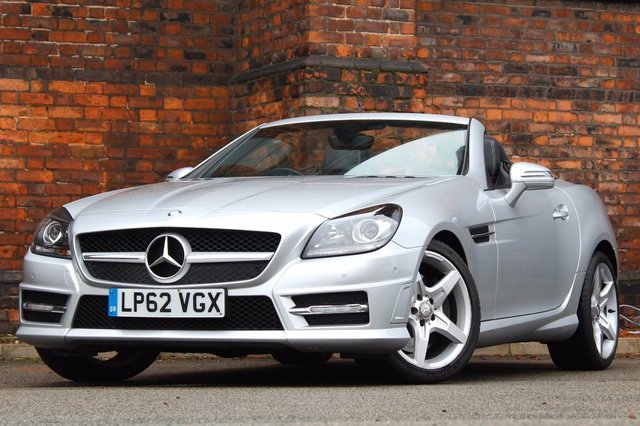 2013 62 MERCEDES-BENZ SLK 2.1 SLK250 CDI BlueEFFICIENCY AMG Sport 7G-Tronic Plus 2dr (start/stop)