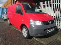 2008 VOLKSWAGEN TRANSPORTER T28 SWB 2.5 TDi 130 PS *ONE OWNER*ONLY 36000 MILES* £10495.00