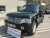 USED 2007 57 LAND ROVER RANGE ROVER 3.6 TDV8 VOGUE 5d AUTO 272 BHP ** STUNNING VEHICLE ** 6K WORTH OF EXTRAS **